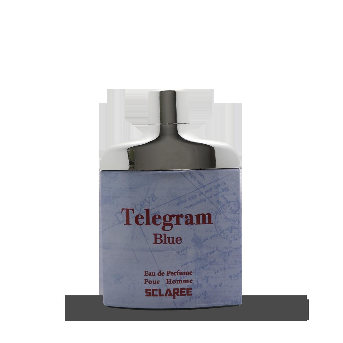 ادکلن ۱۰۰میل تلگرام بلو اسکلاره با رایحه دیویدف سیلور شادو